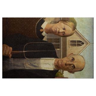 Gotisk konstmålning för anslags- Wood amerikan Tyg