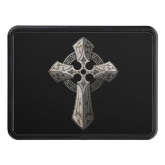 Gotisk kor för sten med stam- inlägg på svart skydd för dragkrok