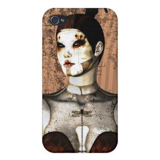 Gotisk Mech älskarinna 4 iPhone 4 Cases