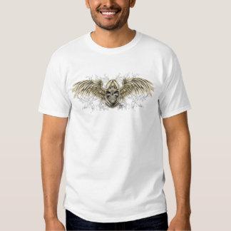 Gotisk medeltida skalle för Templar riddare med T Shirt