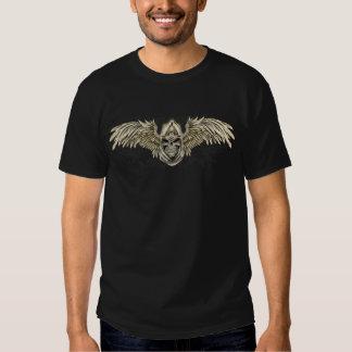 Gotisk medeltida skalle för Templar riddare med Tshirts