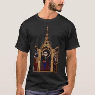 Gotisk medeltida skjorta för kvällTriptych Tee
