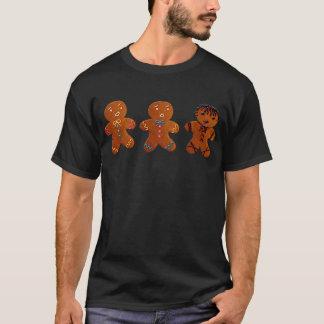 Gotisk pepparkaksgubbe tee shirt