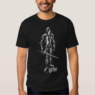 Gotisk riddare t-shirts