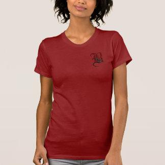Gotisk rosa Monogram B Tshirts