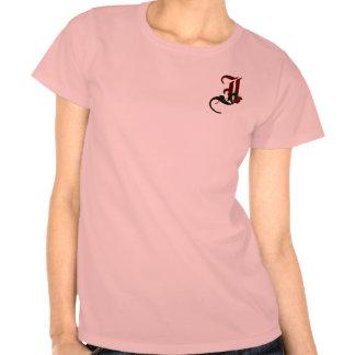 Gotisk rosa Monogram mig Tröjor
