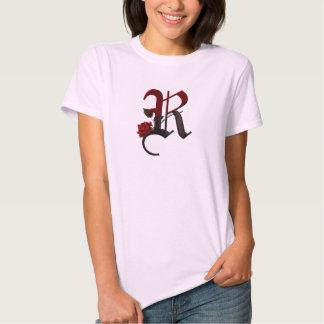 Gotisk rosa Monogram R Tröja