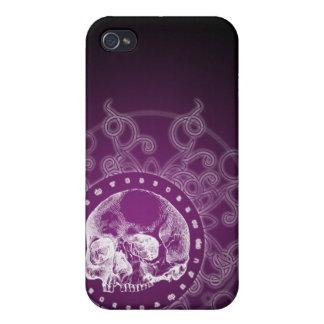 Gotisk skalle 4 iPhone 4 cases
