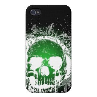Gotisk skalle 4 iPhone 4 cover