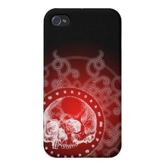 Gotisk skalle 4 iPhone 4 fodral