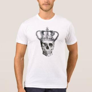 Gotisk skalle för vintage med skjortan för tee shirts