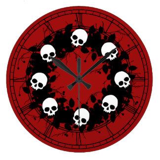 Gotisk skallehelgdagkran stor klocka