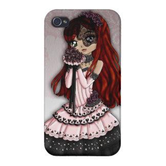 Gotisk snörebrudiphone case 4 iPhone 4 cover
