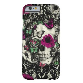 Gotisk snöreskalle för Victorian med rosa Barely There iPhone 6 Fodral