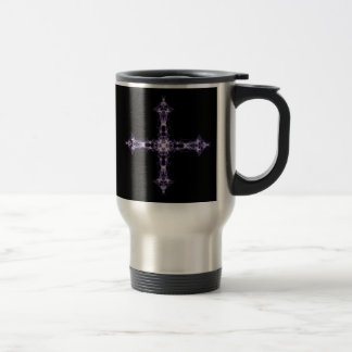 Gotisk svart- och lilaFractalkor Resemugg
