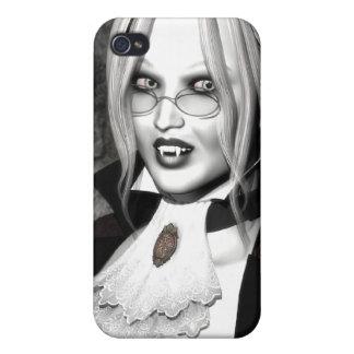 Gotisk vampig älskarinna 4 iPhone 4 cases