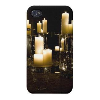 Gotiska stearinljus iPhone täcker iPhone 4 Cases