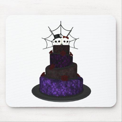 Gotiskt bröllop musmattor