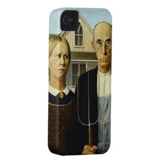 Gotiskt IPhone 4 för amerikan fodral iPhone 4 Case-Mate Cases