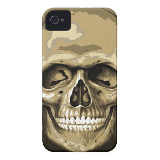 Gotiskt skalleblackberry boldfodral iPhone 4 cover