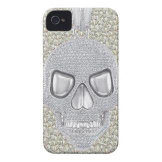 Gotiskt skallediamanttryck Case-Mate iPhone 4 skydd