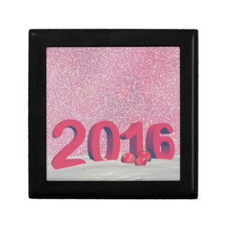 Gott nytt år 2016 minnesask