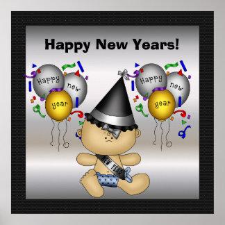 Gott nytt år affisch poster