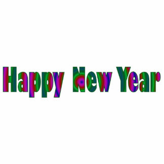 Gott nytt år photo cutout