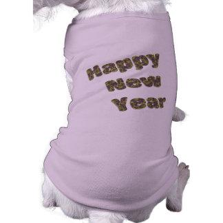 gott nytt år husdjurströja