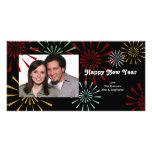 Gott nytt år Photocards Fotokort