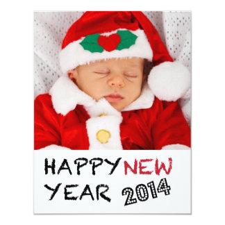 Gott nytt årfotokort 2013 10,8 x 14 cm inbjudningskort