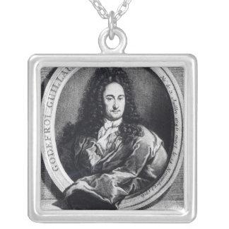 Gottfried Wilhelm Leibniz Silverpläterat Halsband