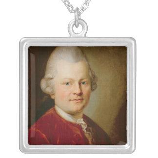 Gotthold Ephraim Lessing, 1727 Silverpläterat Halsband