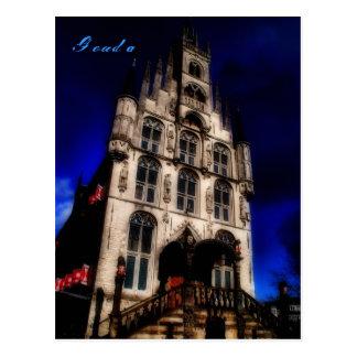 Gouda tidigare stadshus vykort