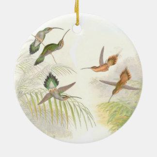 Goulds Hummingbirds Julgransprydnad Keramik