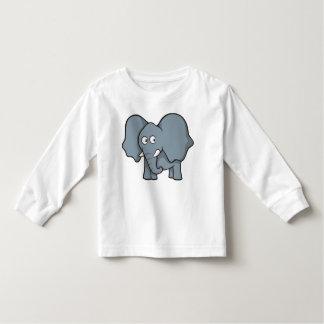 Grå elefant tee shirt
