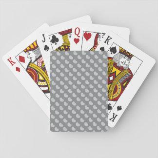 Grå färg för bakgrund för ändring för casinokort
