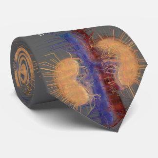 Grå färg för design för njure för NephrologistTie Slips