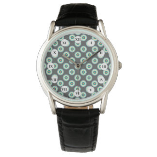 Grå färgkombinationen cirklar vid Shirley Taylor Armbandsur
