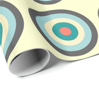 Grå färgkombinationsBullseye av Shirley Taylor Presentpapper
