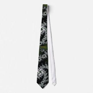 Grå fractaltie för elegant slips