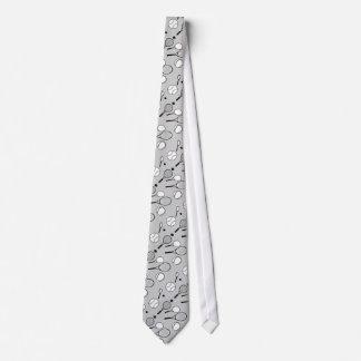 Grå stilfull manar för tennis slips