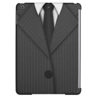 Grå streckmanar iPad för kostym och för Tie luftar