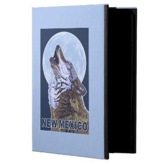 Grå varg HowlingNew Mexico iPad Air Fodral