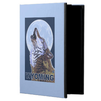 Grå varg HowlingWyoming iPad Air Fodral