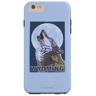 Grå varg HowlingWyoming Tough iPhone 6 Plus Skal