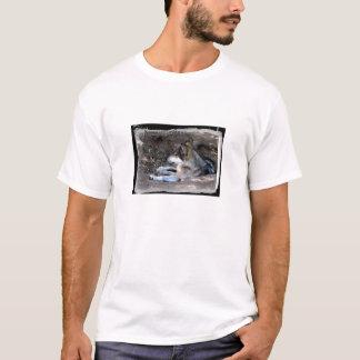 Grå vargT-tröja för mexikan Tröjor