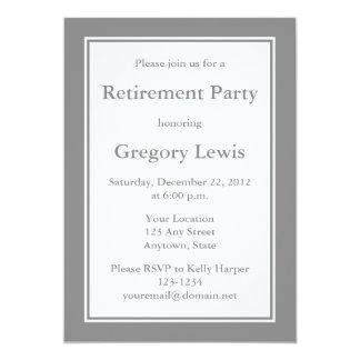 Gråa inbjudningar eller meddelanden för personlig