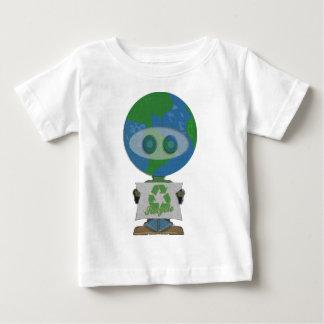 Grabb för jorddagåtervinna t-shirt
