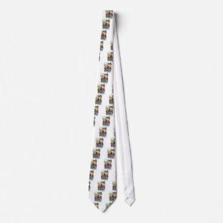 Grabbar i lägret slips